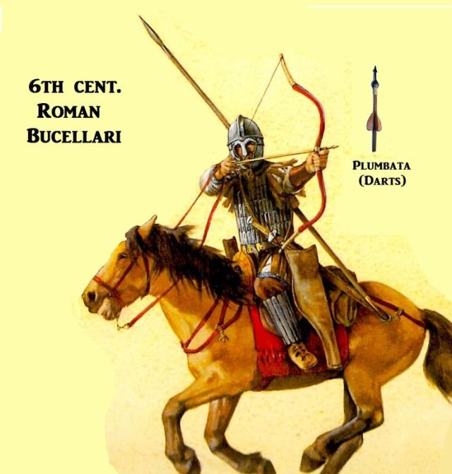 bizantino cavaliere VI secolo