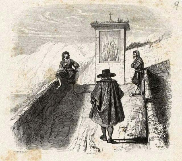 tabernacolo_bravi_don-abbondio_illustrazione di francescon gonin