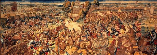Battaglia Pavia 1530 circa arazzo