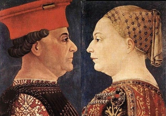 Strukul_Bianca-Maria-Visconti-e-Francesco-Sforza ritratto di Bonifacio Bembo