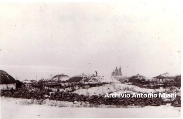 La chiesa di Meshkovskaya alla vigilia della battaglia