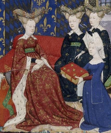 Christine_de_Pisan_and_Queen_Isabeau_detail