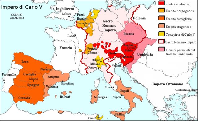 Impero carlo V
