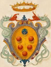 Lo stemma di casa Medici