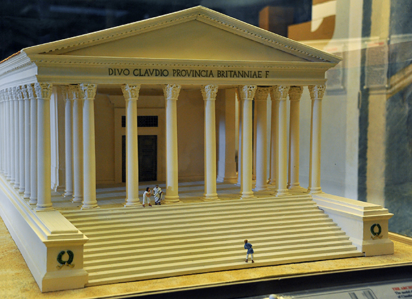 Tempio Claudio_modellino museo